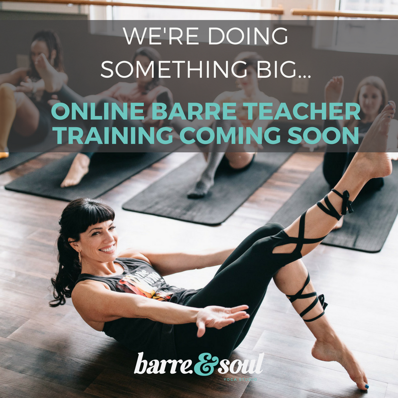 ONLINE BARRE TEACHER TRAINING
