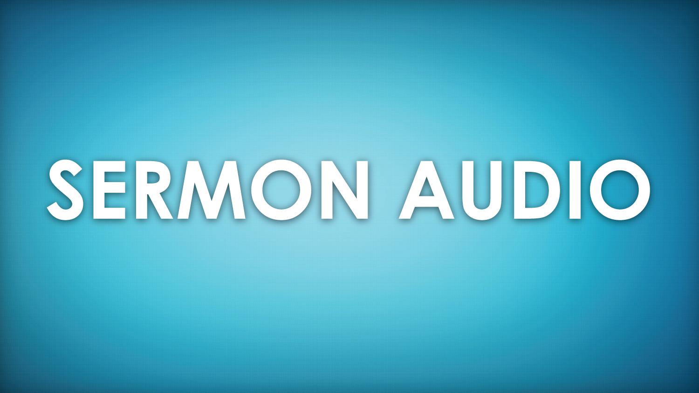 This Weeks Sermon