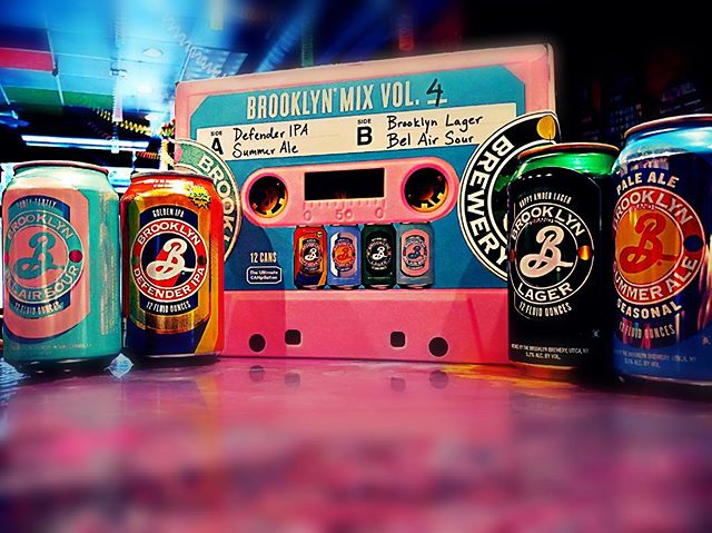 When we saw the label art on this Brooklyn mix pack, we knew we had to have it. Do you agree? #brooklynbrewing