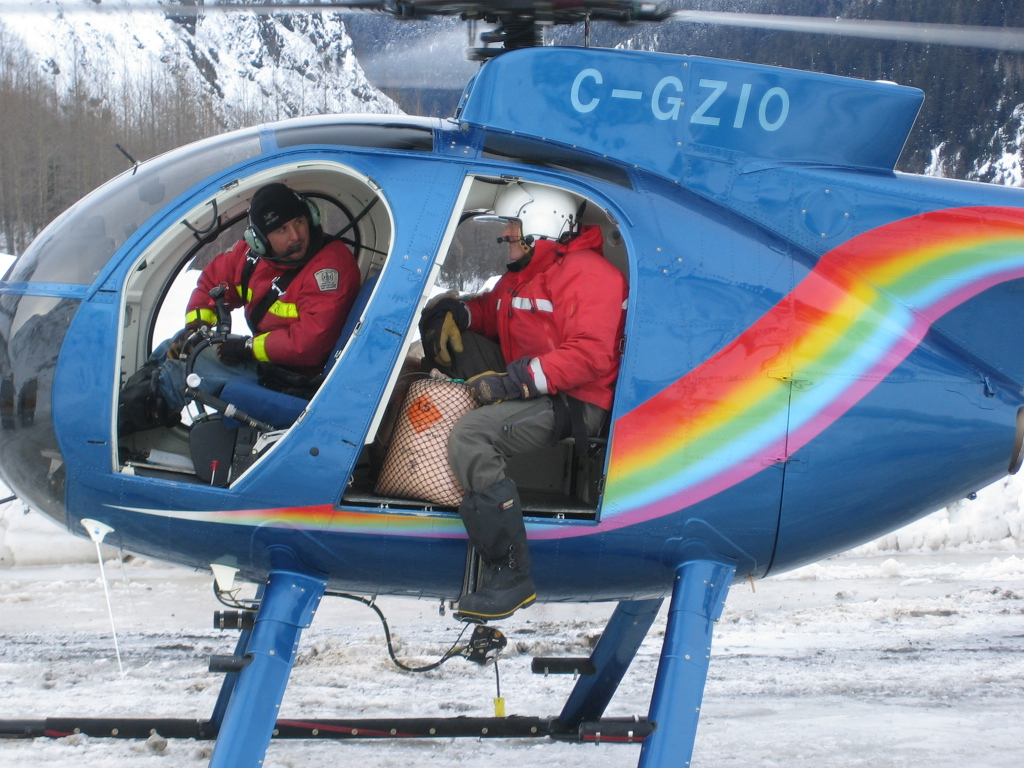 Helicopter Explosive Control - Stewart BC