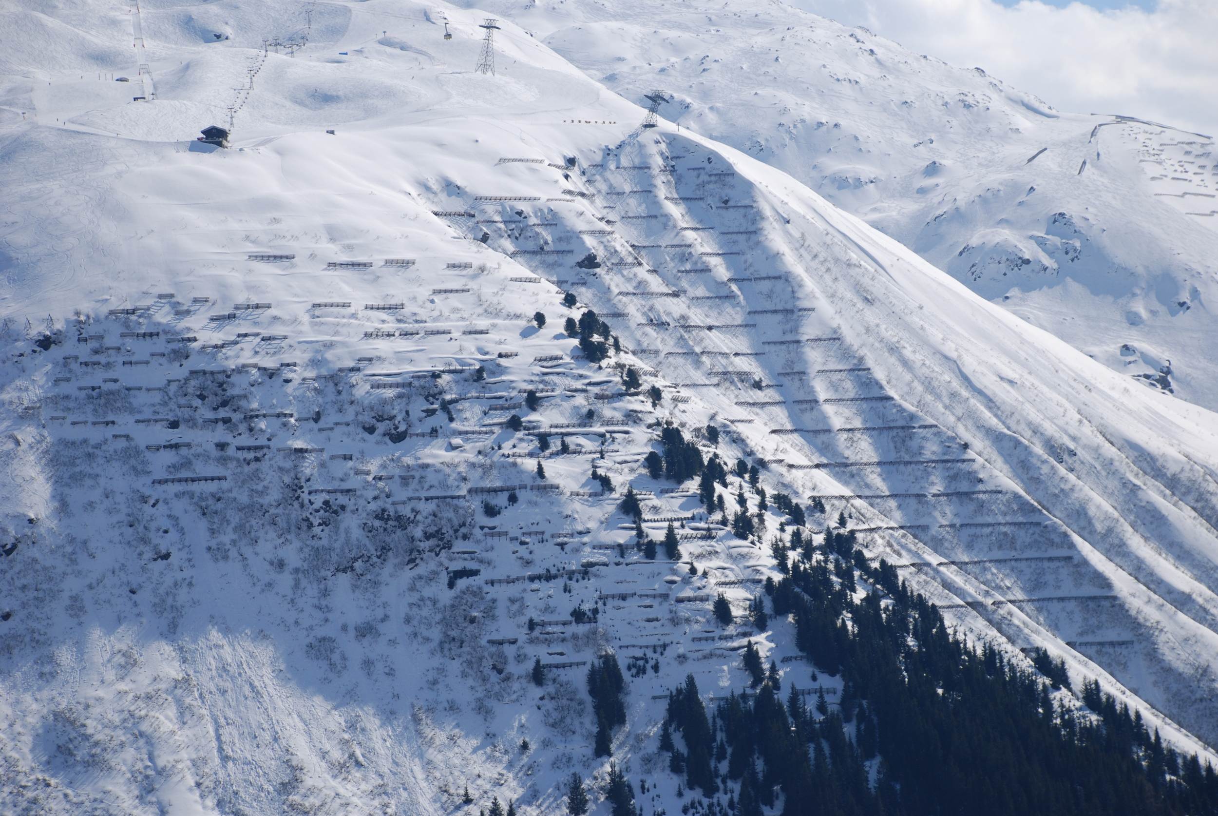 Avalanche Fencing - Andermatt, Switzerland