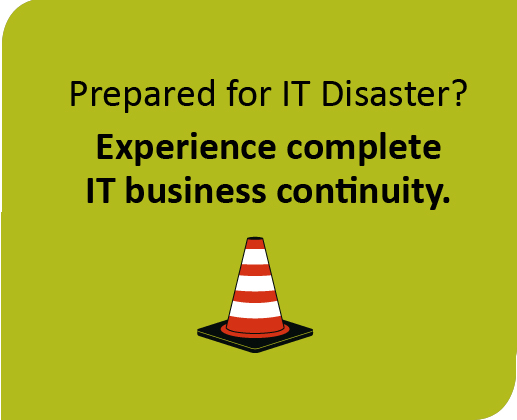 backup, disaster recovery, business continuity icon
