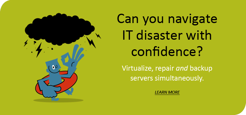 Backup, disaster recovery, business continuity