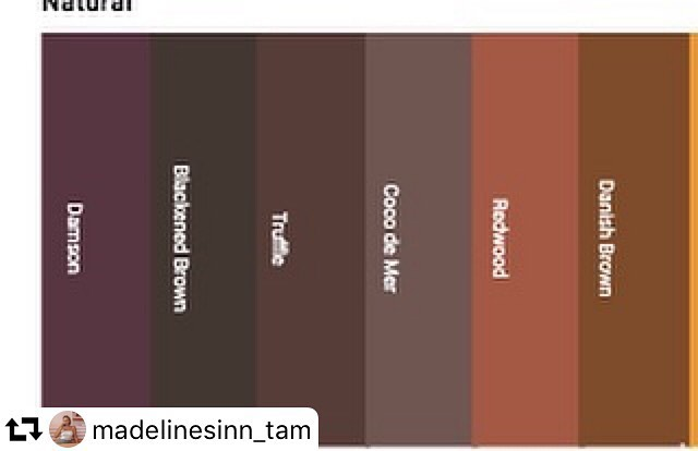 #repost @madelinesinn_tam ・・・ A Pantone sample from A/W 2020 from wgsn that we based our project off of