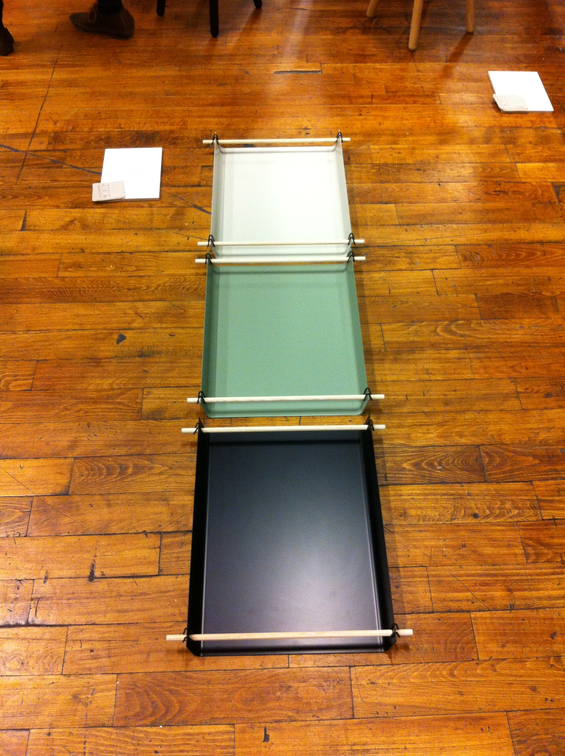 Here are some trays from  Christina Liljenberg Halstrom