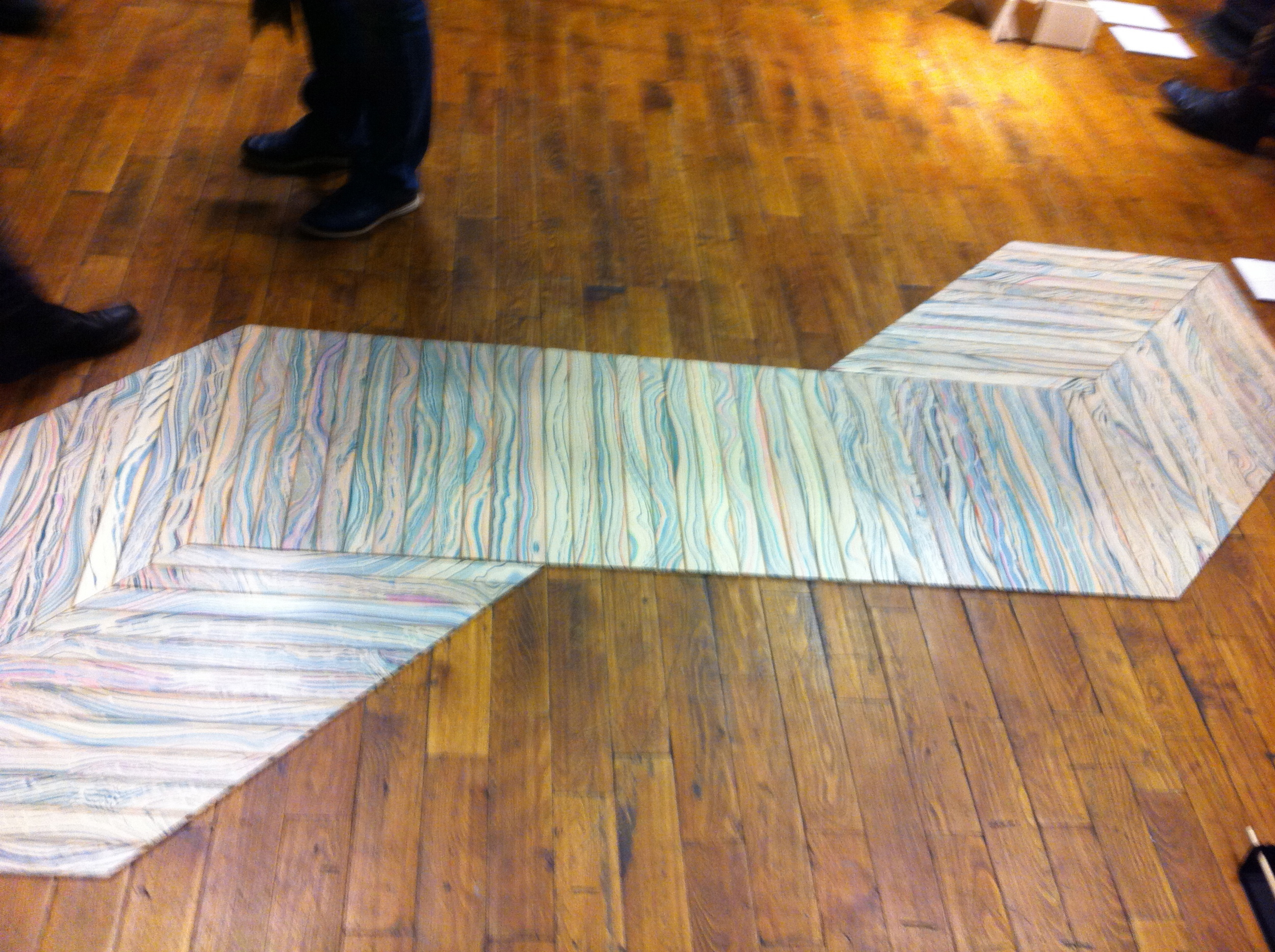and some wooden modular carpet from  Pernille Snedker Hansen . Additionally, check out the talented  Line Depping  and  Jakob Jorgensen , who sell their designs in Japan.