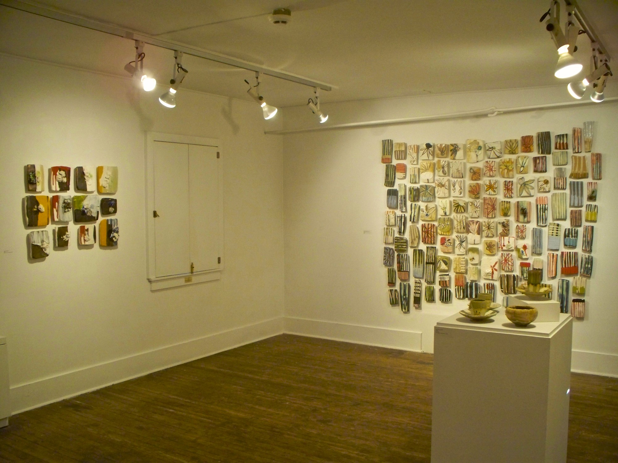 Installation view of gallery - Hunterdon Museum of Art