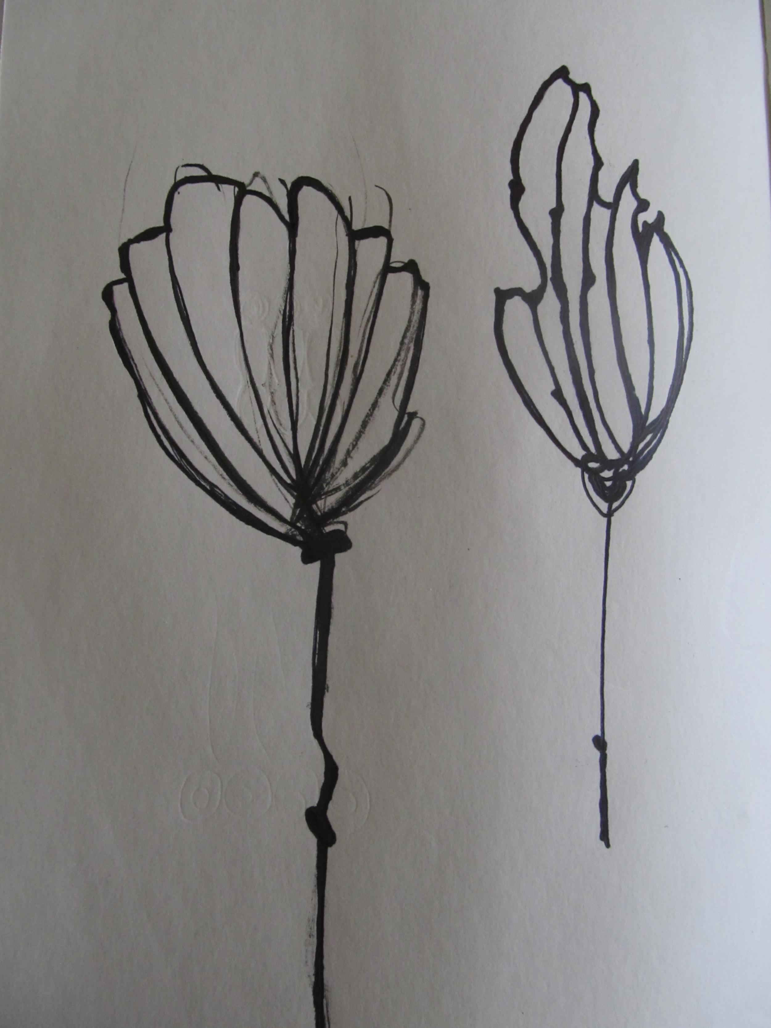 ink sketches/sketchbook, Varanasi, 2013