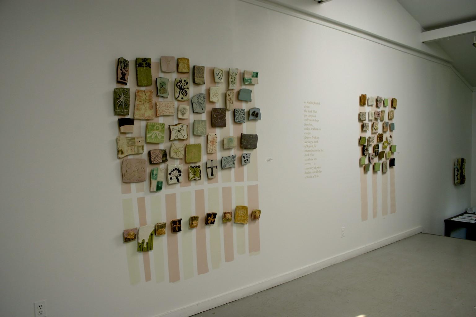 Gallery, installation view, Mikhail Zakin Gallery, Art School at Old Church, Demarest, NJ