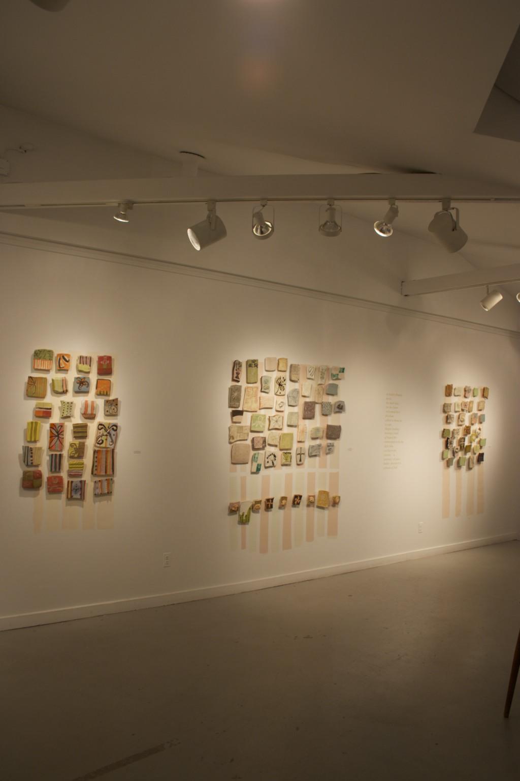 installation view, gallery