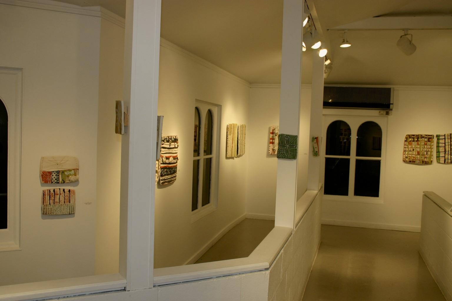 gallery, installation view