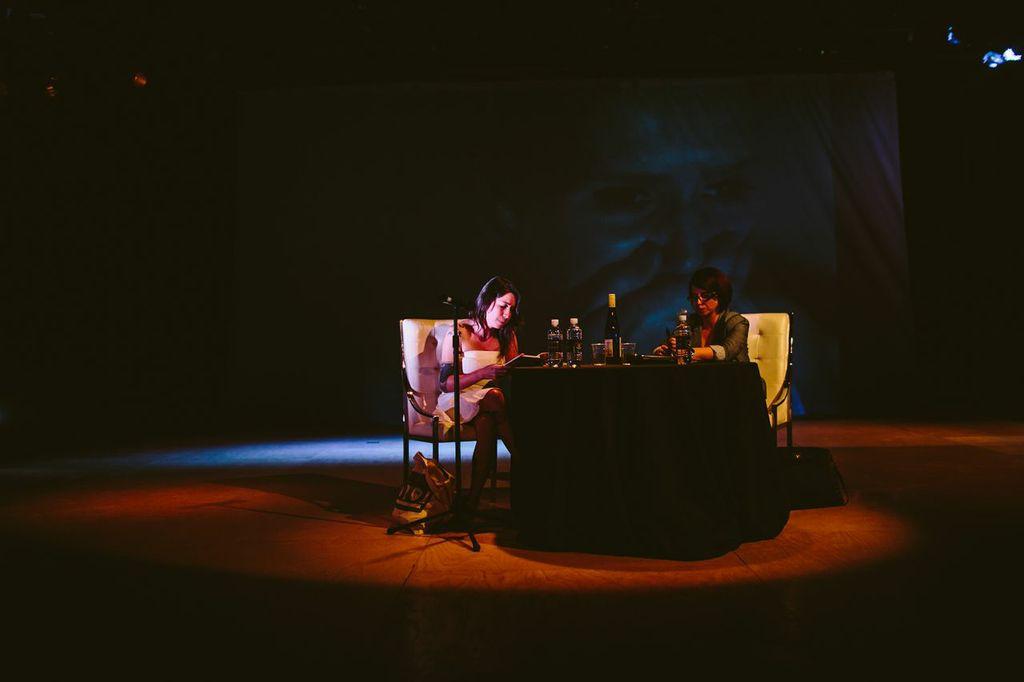 Legna Rodríguez Iglesias and Yosie Crespo (all photos courtesy of Gesi Schilling)