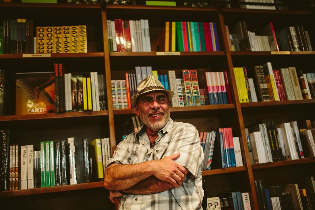 Jimmy Santiago Baca(all photos courtesy of Gesi Schilling)