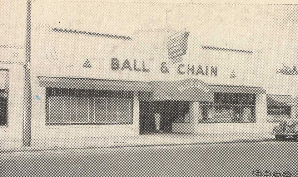 The original Ball & Chain