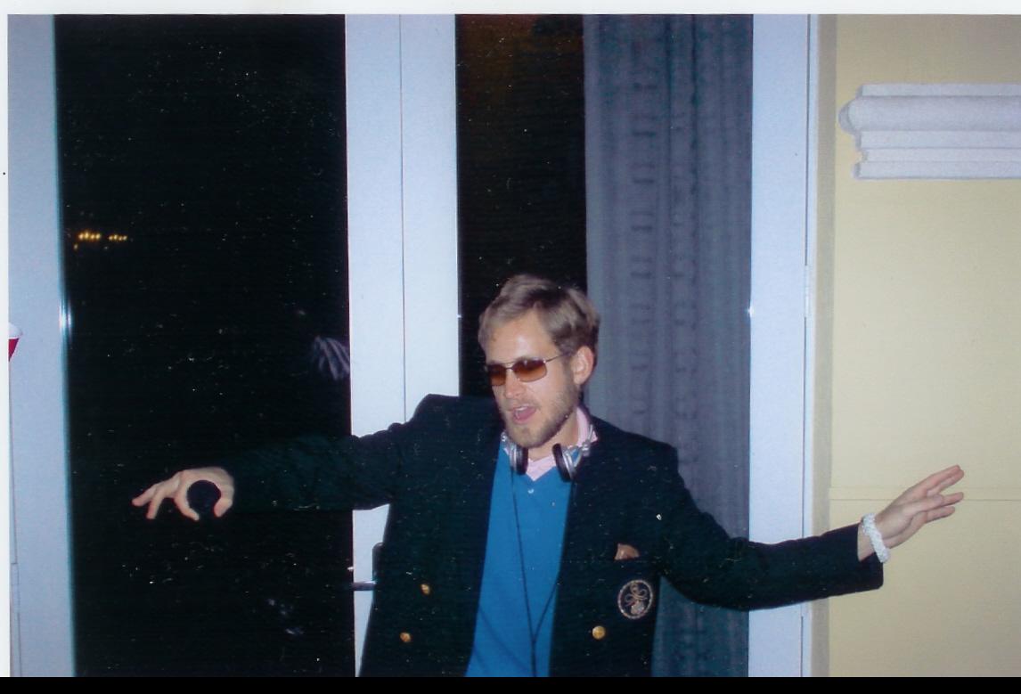 Last known appearance of DJ.Crew, Boca Raton, 2003