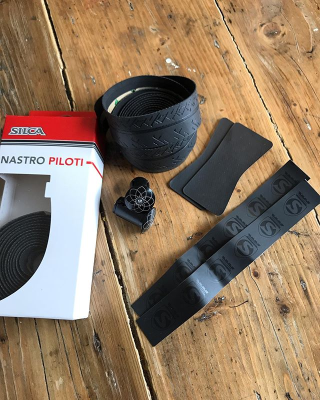 Formula one just came to cycling. Can't wait to try the new Nastro Piloti bar tape from @silca_velo #silca