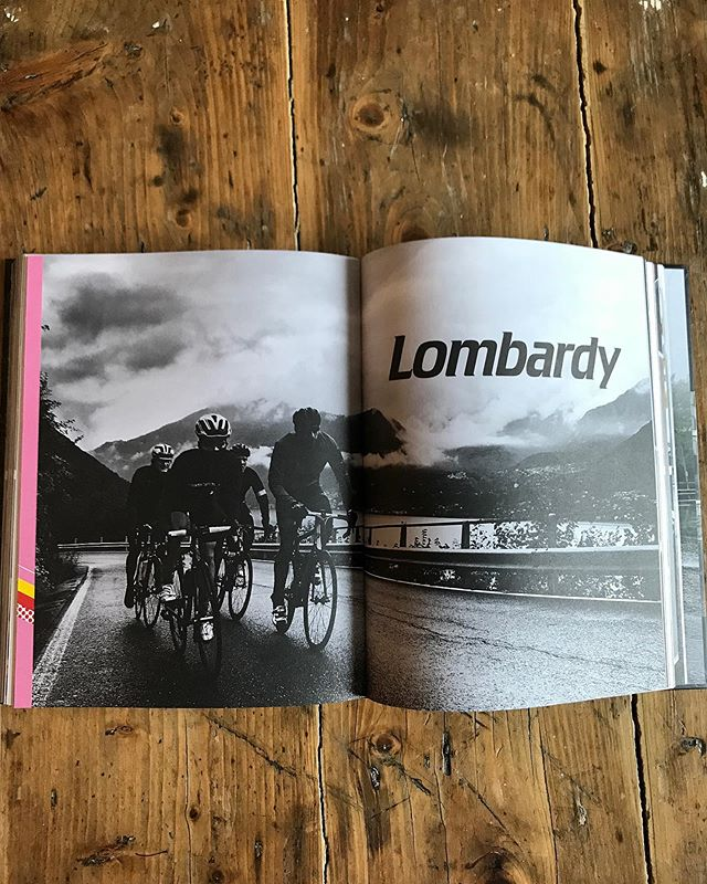 Today the @giroditalia enters the Lombardia district. Velochef in Europe has a whole chapter dedicated to this region. Food inspired from the area, stories of the mystical climbs, great photos and a beautiful map of the region illustrated by @rich_mitch #velochef #velochefineurope #giro #como #gawellforlag