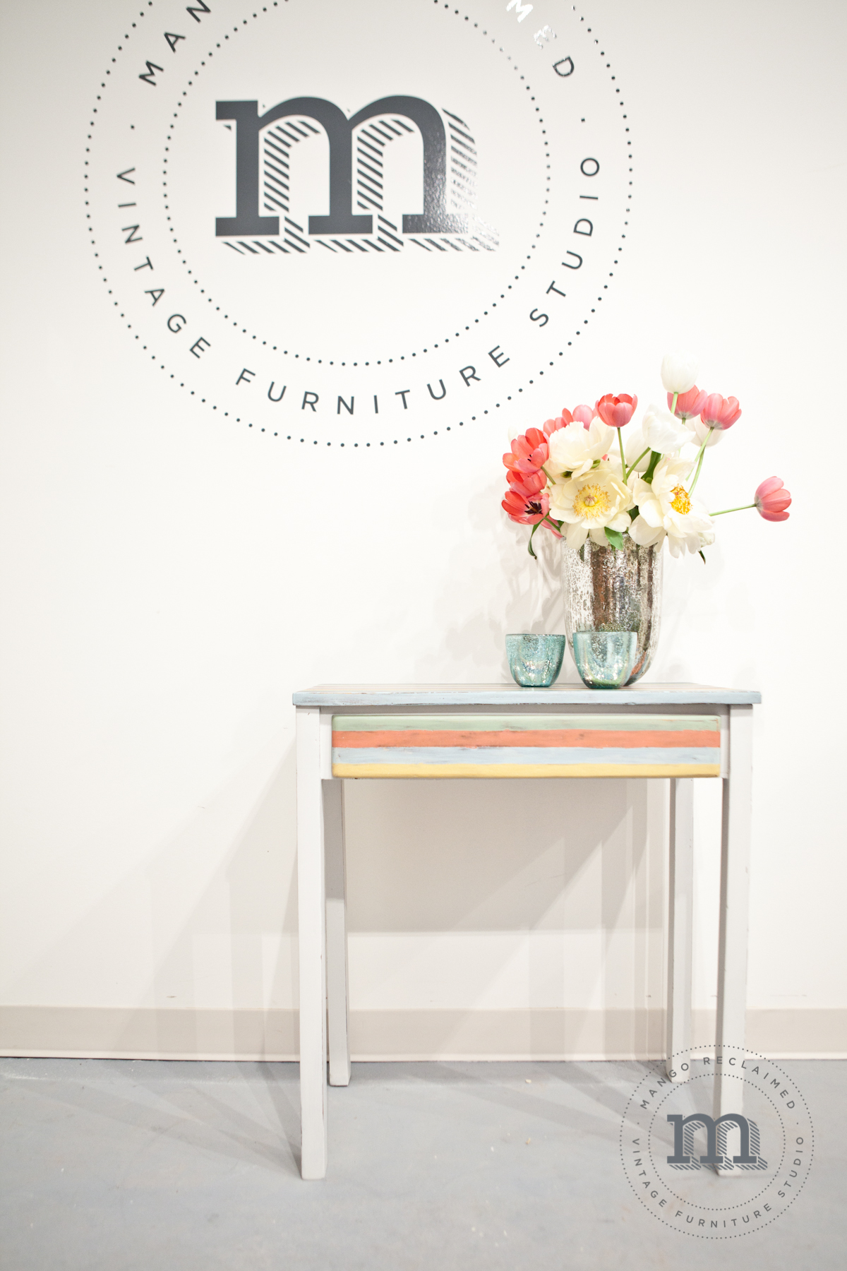 Striped Desk/Table, currently available, $185.