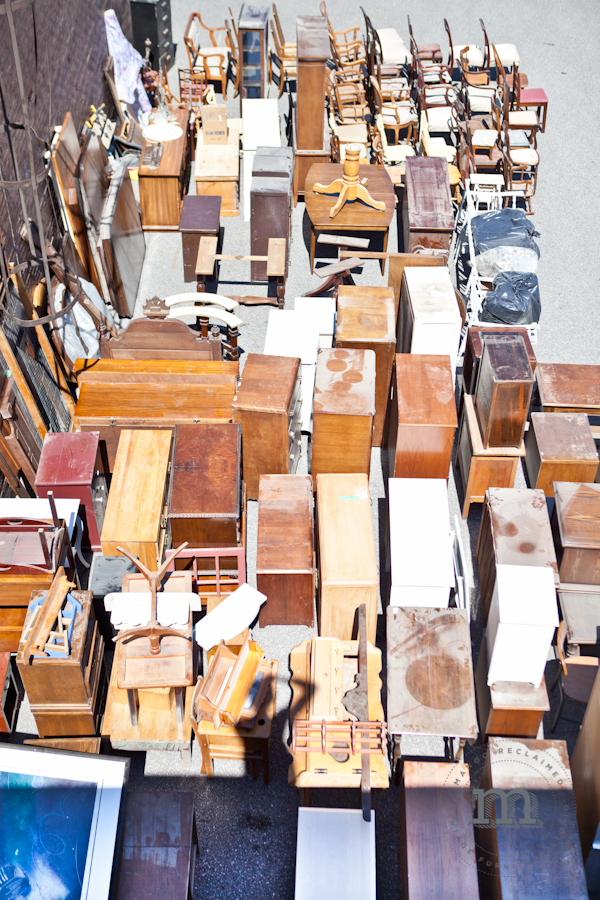 Wowsa - that's a whole lotta dusty furniture!