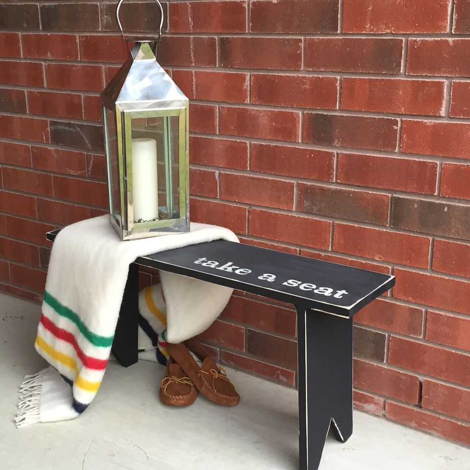 Fun with Fusion! Customized rustic bench workshop! Saturday July 16th, 12pm - 3pm