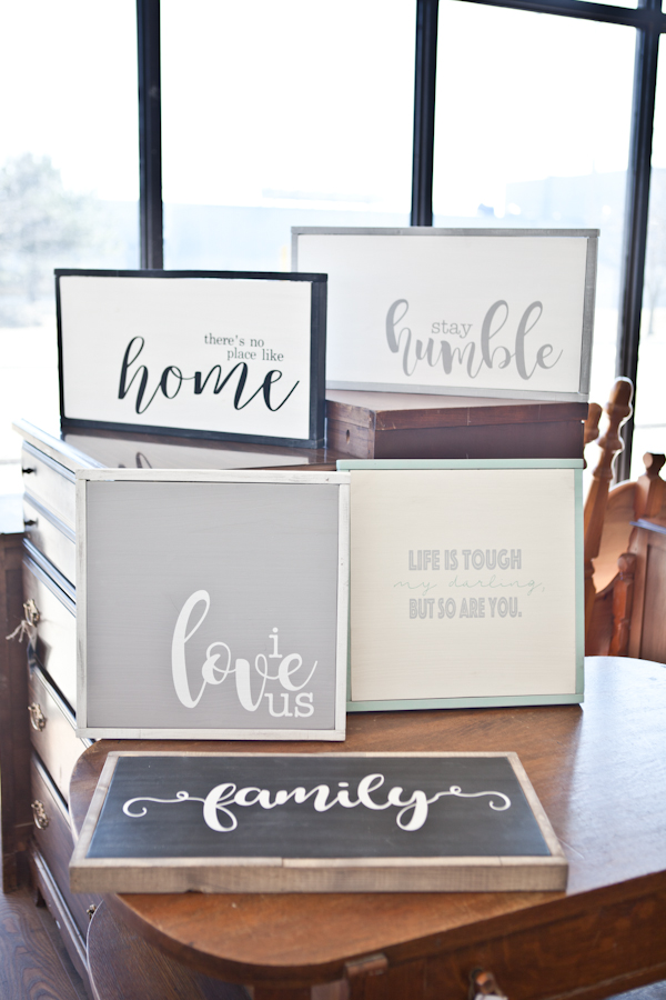 Fusion MIneral Paint - Custom Rustic Sign Class! Saturday April 22nd, 12-3pm!