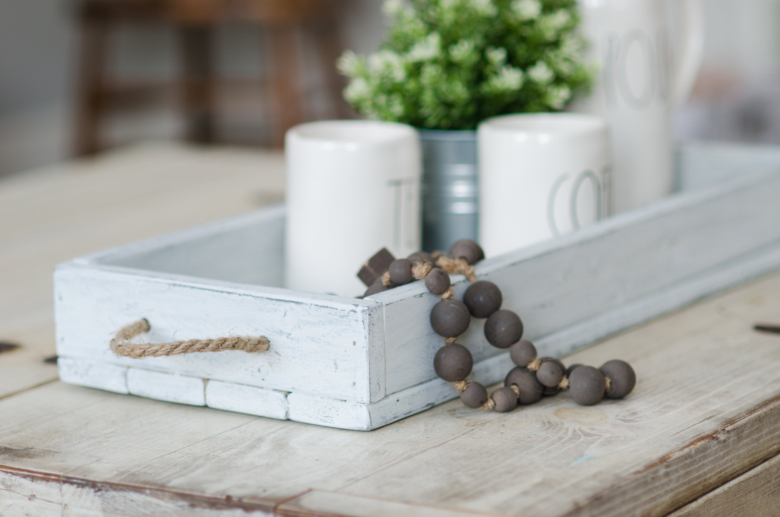 Milk painted Farmhouse Table Tray - Saturday March 17th, 12-3pm!