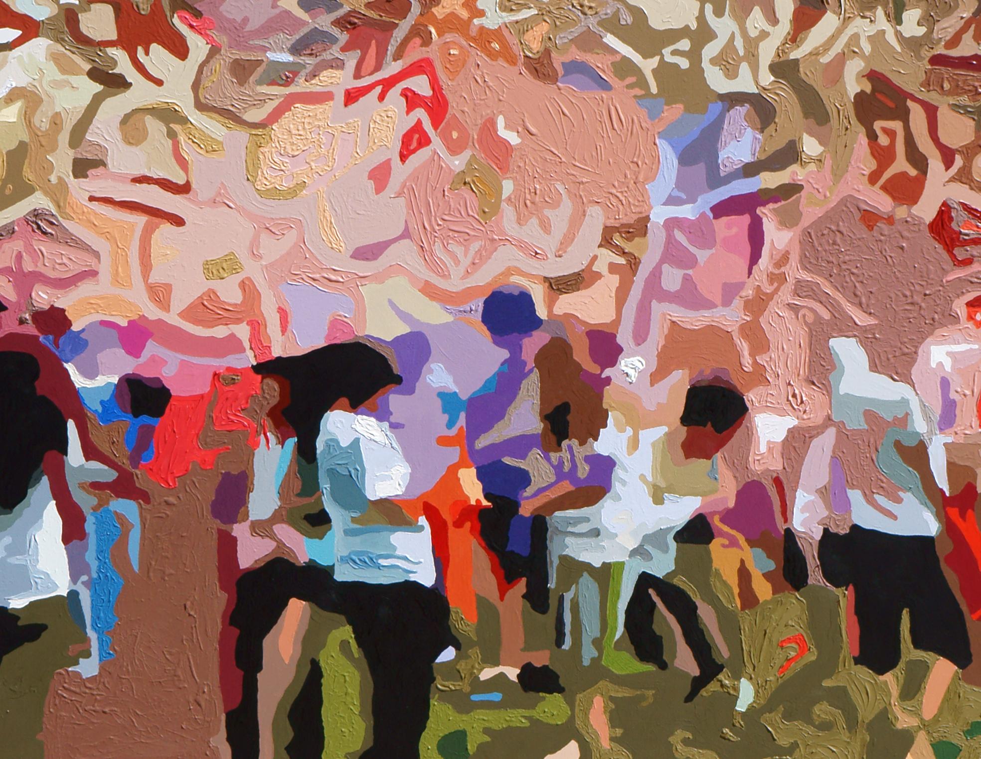 Detail of Harvard Mural Project, 2013