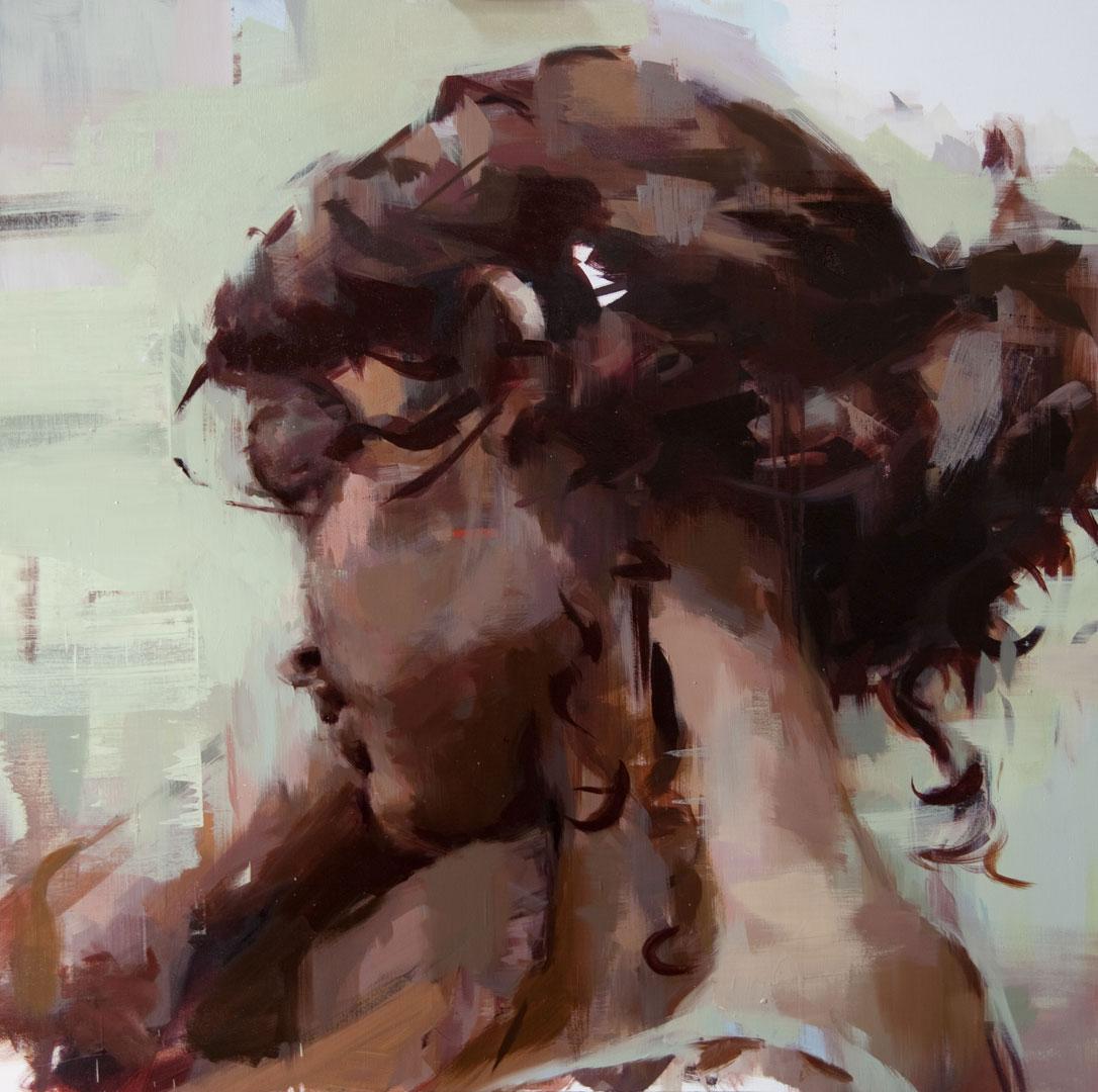"""Dina #2 . 2011, 59"""" x 59"""" (150 x 150 cm), oil on canvas"""