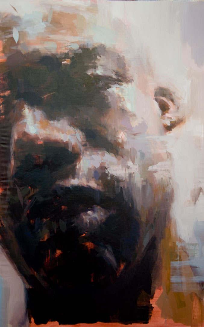 "September . 2010, 38"" x 59"", (100 x 150 cm) oil on canvas"