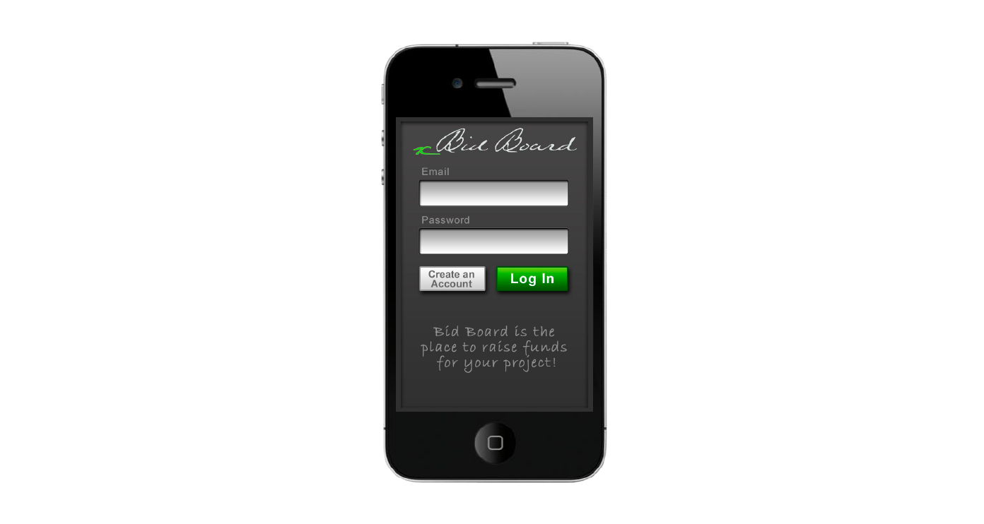 Bid Board UX/UI Design - KLN Design