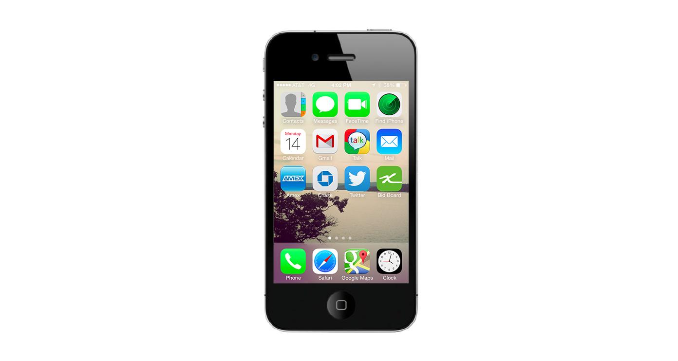 Bid Board App Icon - KLN Design