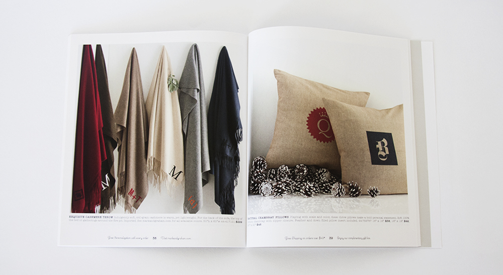 Inside Mark & Graham Catalog Design - Morla Design X KLN Design