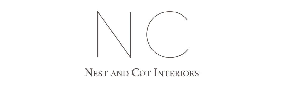 Nest and Cot Interiors Logo Design - KLN Design