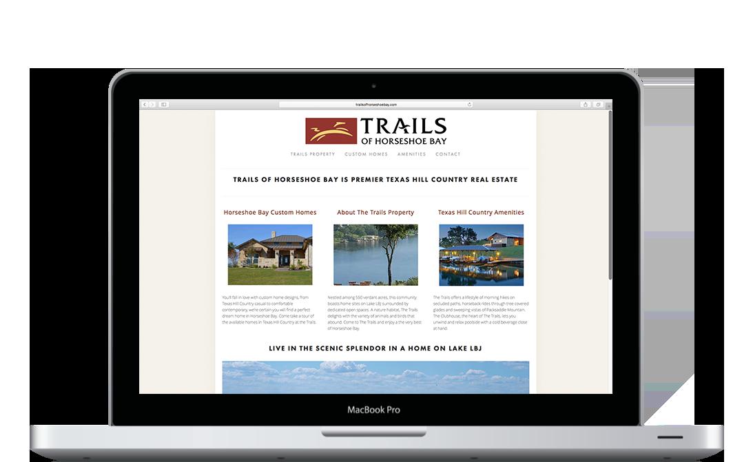 Trails of Horseshoe Bay Desktop View - KLN Desi