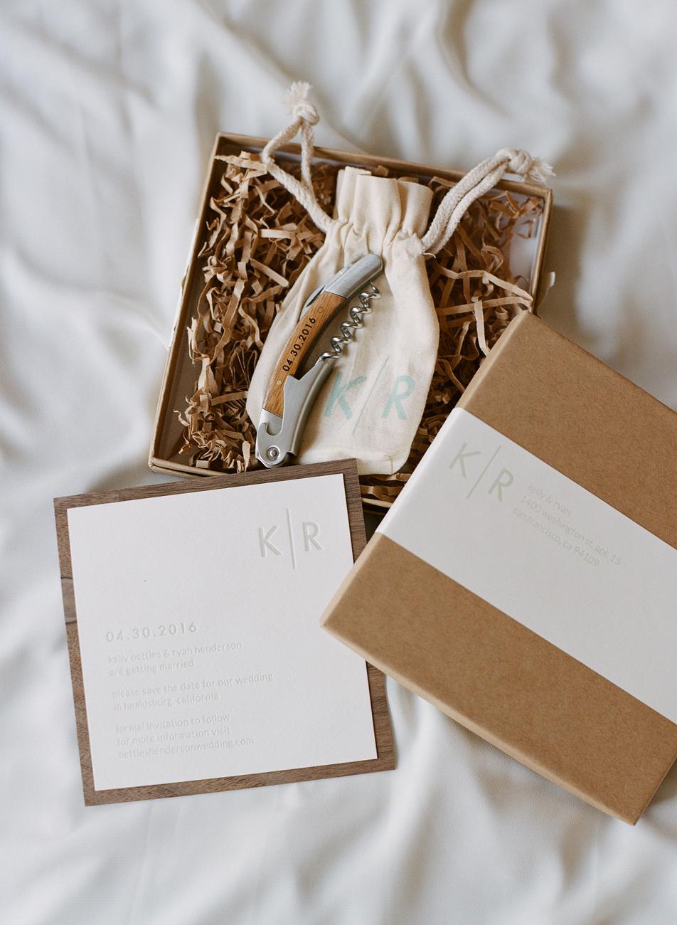 Wedding Guest Gift Packaging Design - KLN Design