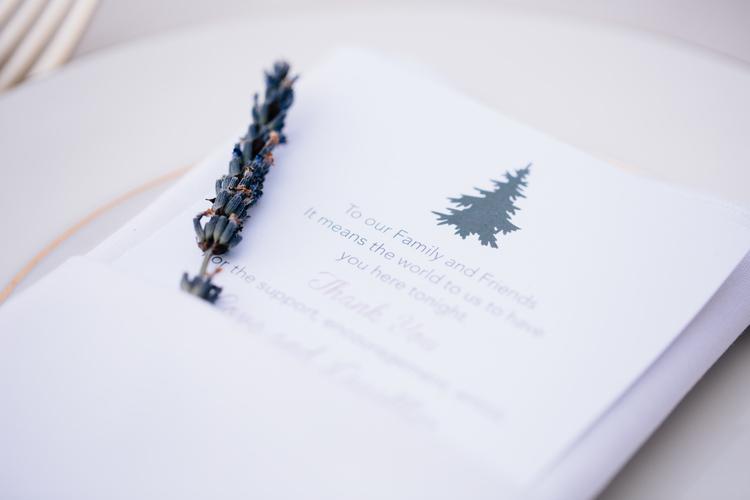 Wedding Welcome Design - KLN Design