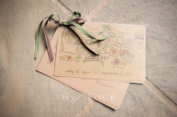 Wedding Welcome Information Guide Design - KLN Design