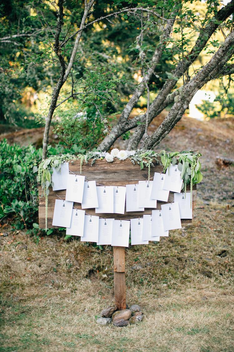 Wedding Weekend Information Guide Design - KLD Design