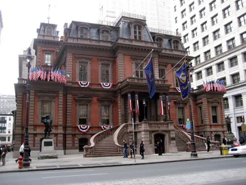 Union League of Philadelphia, designed by John Fraser; image from uwishunu