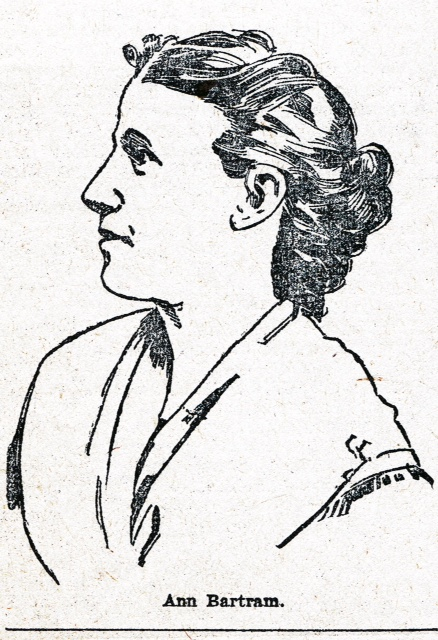 Possible portrait of Ann Bartram Carr, used for a newspaper article in the  Philadelphia Press , May 3, 1896.