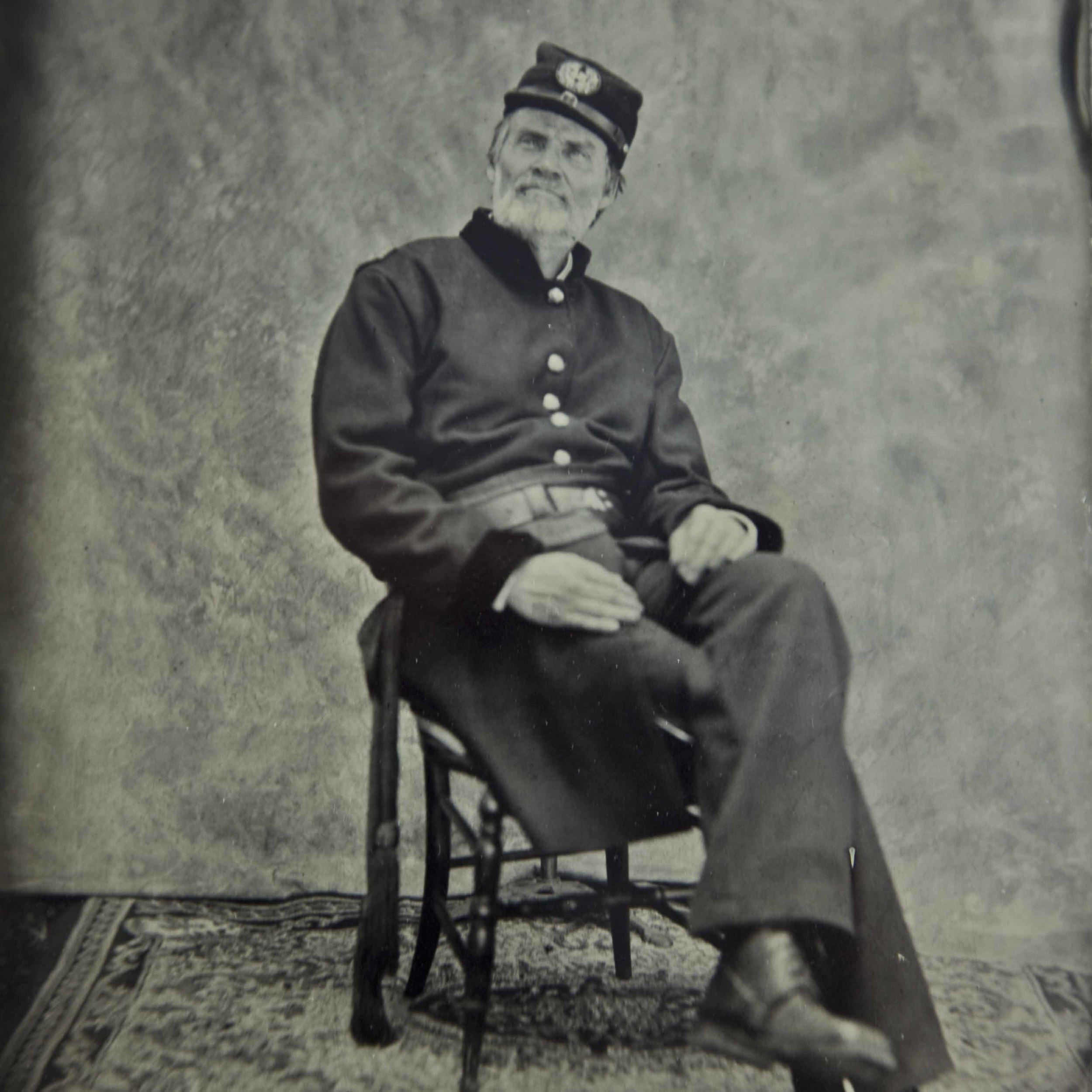 Robert Hicks, Director of The Mutter Museum, pictured above in a Civil War Era Surgeon's Uniform (which he'll be wearing during the tours!)