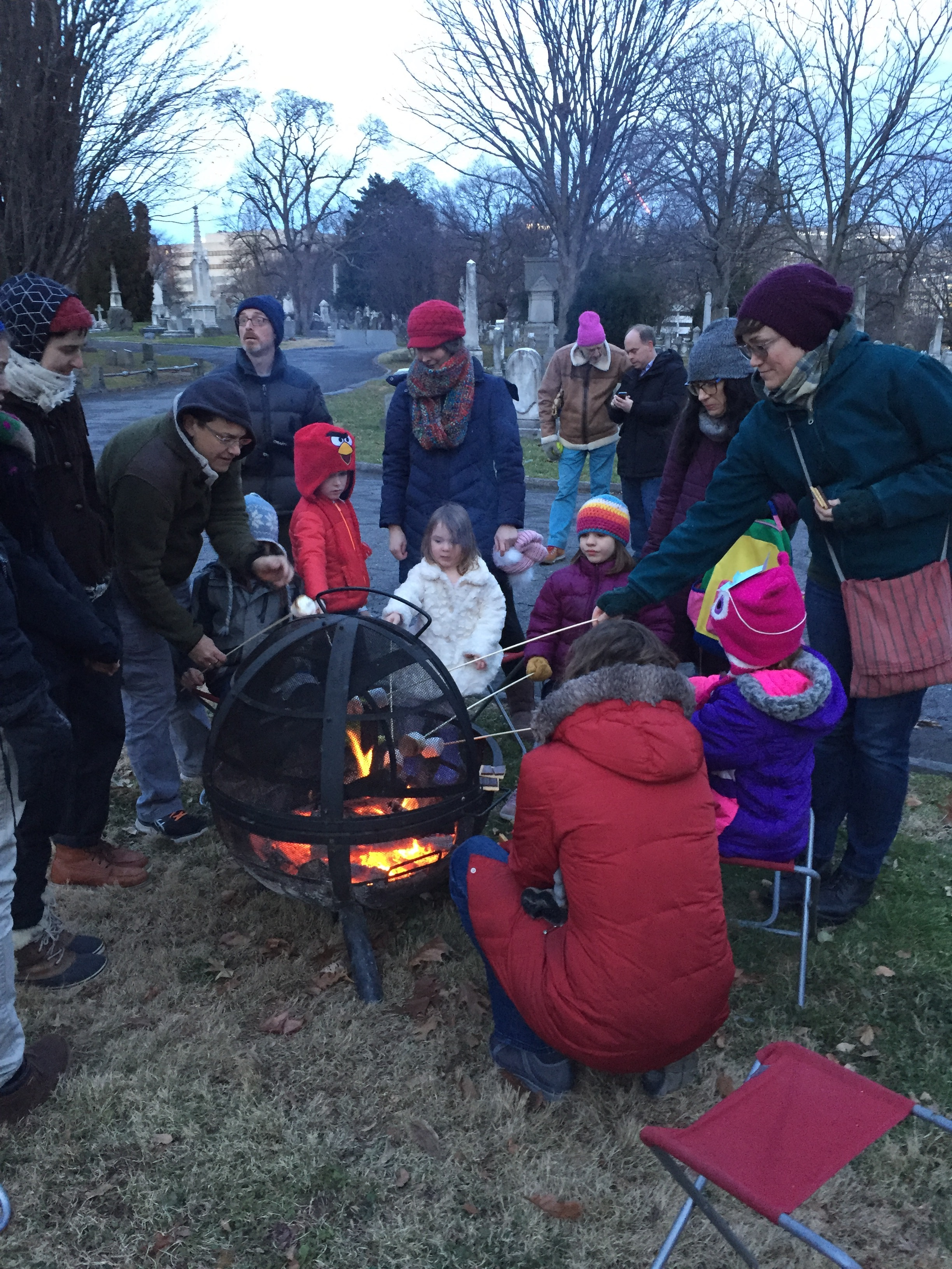 What's better than birding? Birding + s'mores!