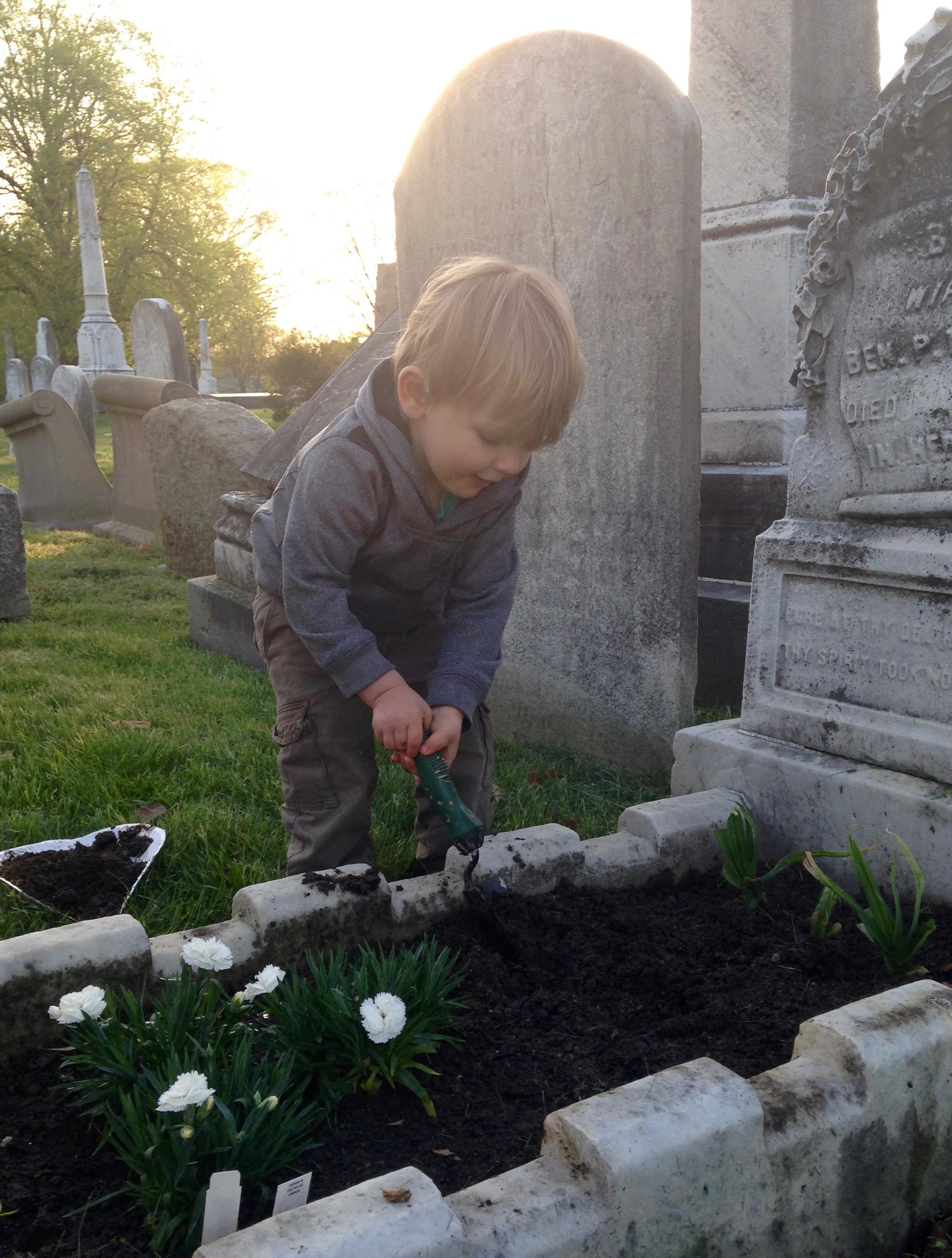 Bede gardening.jpg