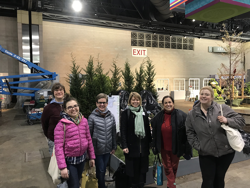 A HUGE thank you to our Grave Gardener volunteers for making this possible. Pictured above from left: Jessica Baumer (ED The Woodlands), Emma Hollier, Jackie McCrea, Becca Flemer, Greta Greenberger, and Rachel Eichelberger. Not pictured: so many Grave Gardeners.  THANK YOU!!!