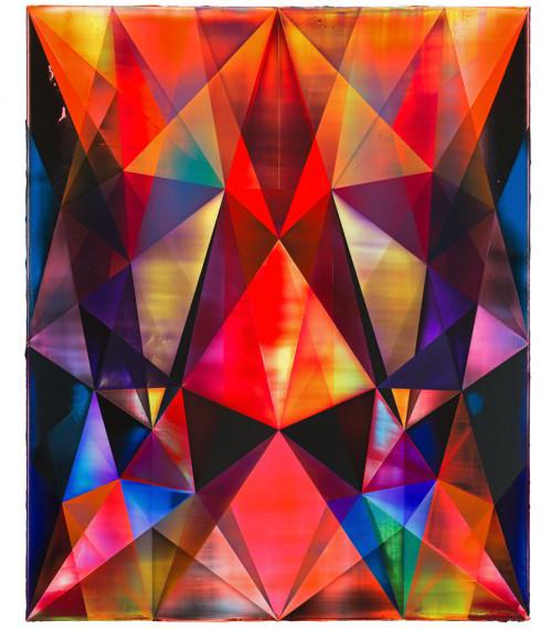 Code Runner , 2013 Acrylic on canvas