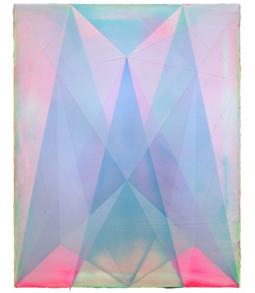 Winters Love , 2012 Acrylic on canvas