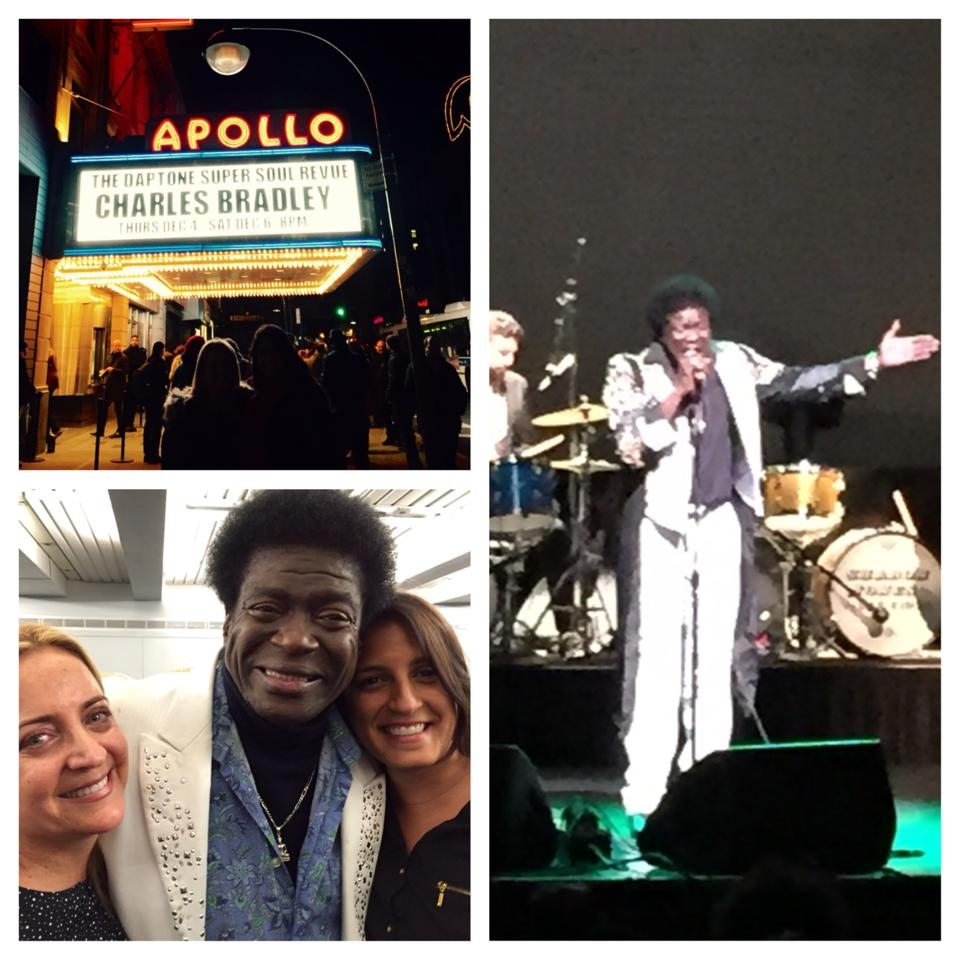 Charles Bradley performs at Apollo Theater