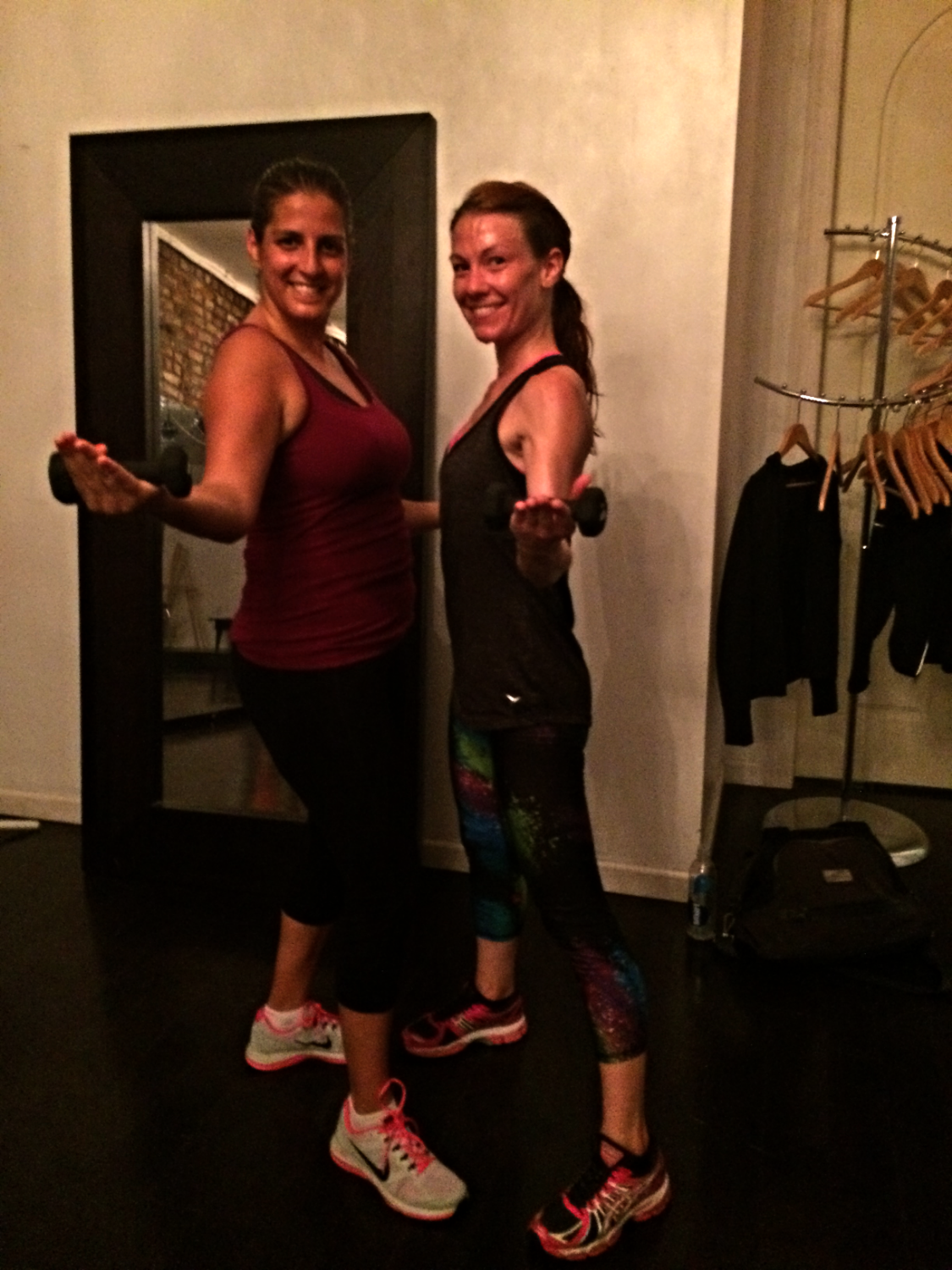 Me and instructor extraordinaire, Erin West