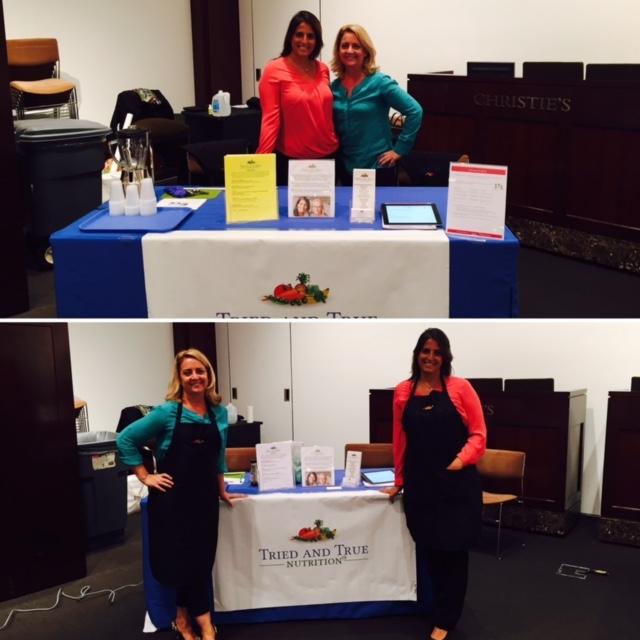 Priya & Pam, Christie's, Sept 2015