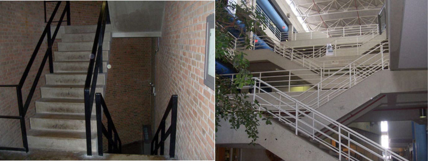 Photos from Architectural Design and Physical Activity: An Observational Study of Staircase and Elevator Use in Different Buildings.